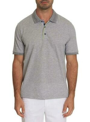 Robert Graham Champion Performance Polo Shirt in Grey