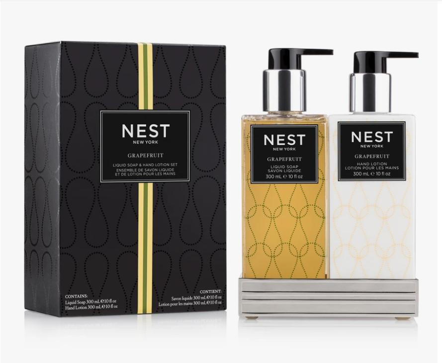 NEST Grapefruit Liquid Soap & Hand Lotion Set