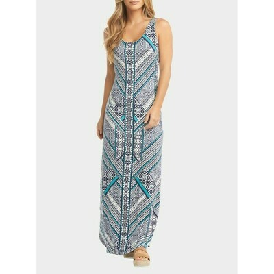 Tart Collections Jack Maxi Dress in Summer Aztec