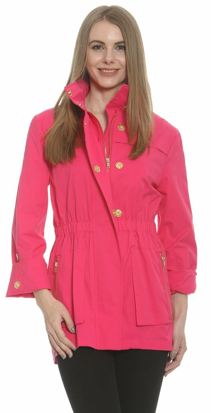 Ciao Milano Raincoat in Hot Pink