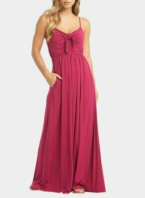 Tart Collections Leonie Maxi Dress in Fuscia