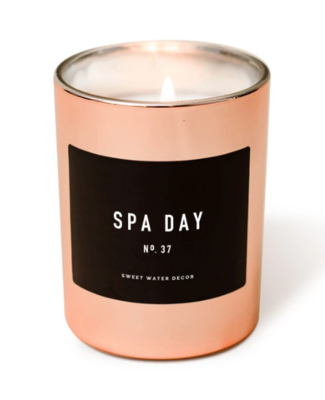 SWD Spa Day Soy Rose Gold Candle