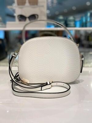 Frank Lyman Handbag In Off White And Gold