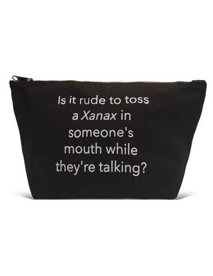 LA Trading Company Is It Rude Pouch