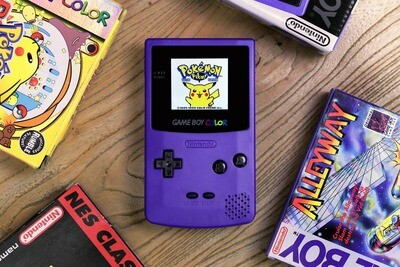 Game Boy Color: Prestige Edition (Grape)