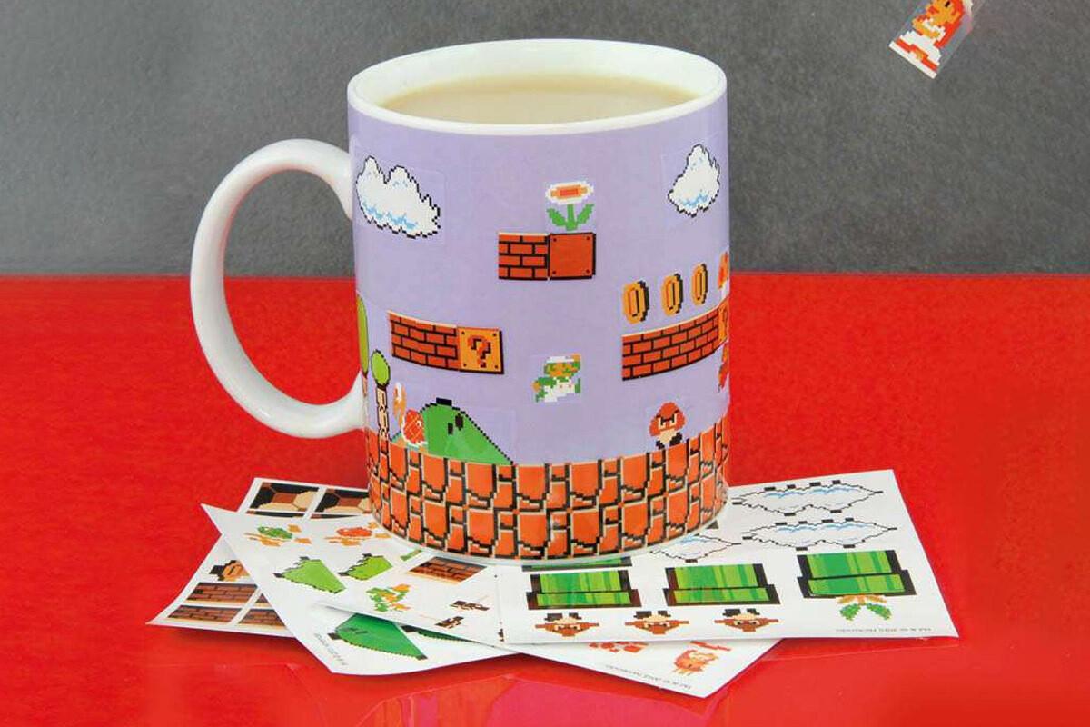 Super Mario Bros Build A Level Mug