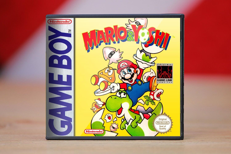 mario  yoshi game boy