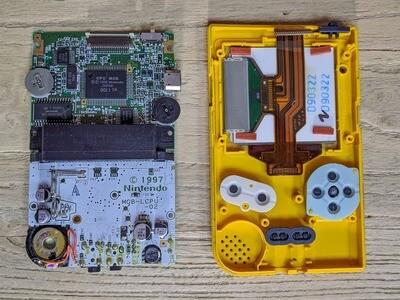 Game Boy Pocket: Send In Service