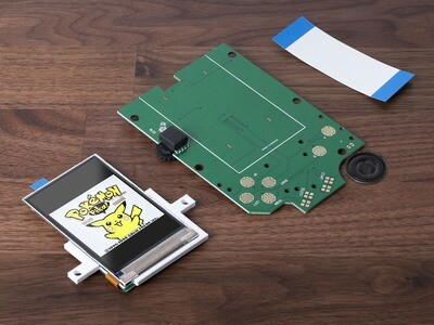 Game Boy Original IPS Screen Kit & Speaker
