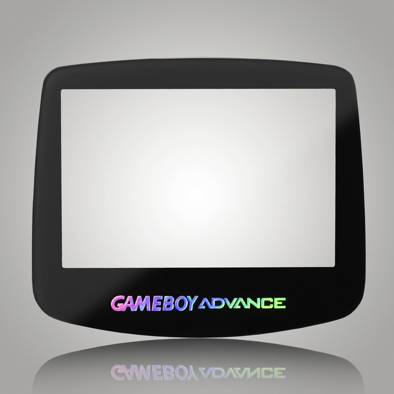 Game Boy Advance Glass Screen (Black)