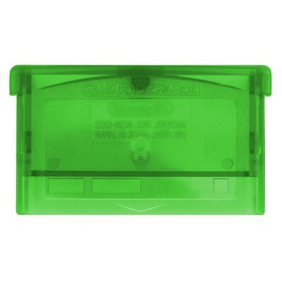 Game Boy Advance Game Cartridge (Clear Green)