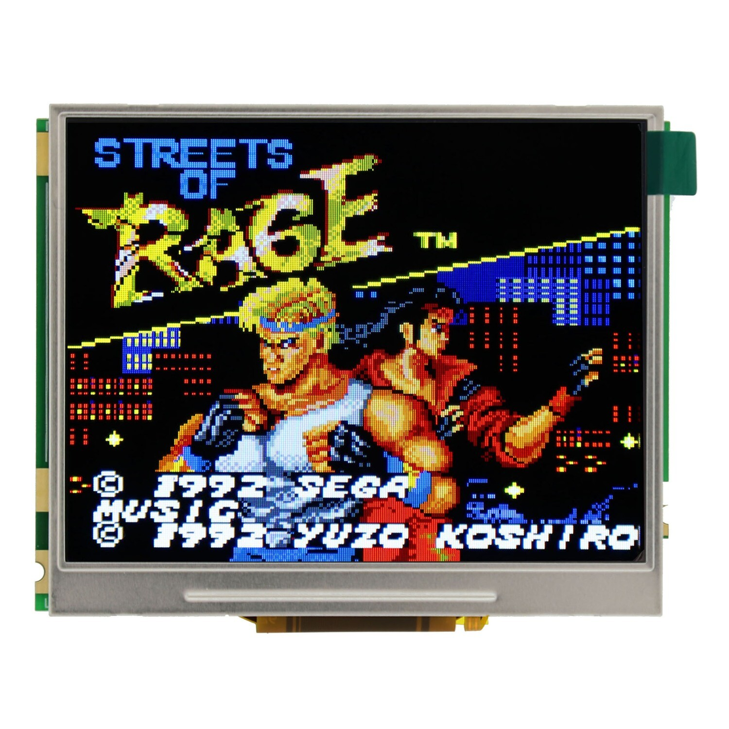 Game Gear Backlit McWill LCD Kit
