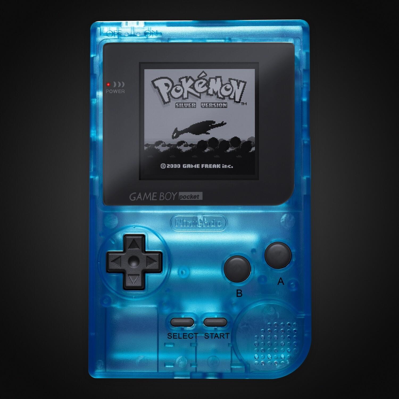 Game Boy Pocket: Prestige Edition (Clear Sky Blue)