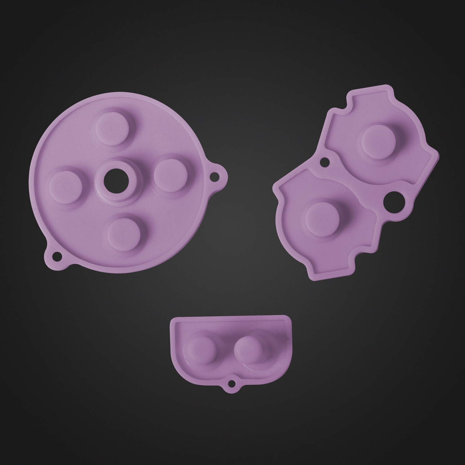 Game Boy Advance Rubber Pads (Pink)