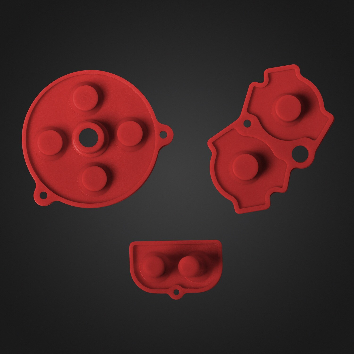 Game Boy Advance Rubber Pads (Red)