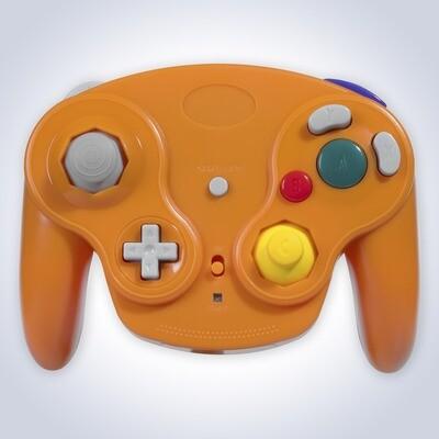 GameCube Wireless Controller (Orange)