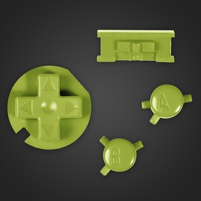 Game Boy Color Buttons (Green)