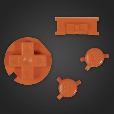 Game Boy Color Buttons (Orange)