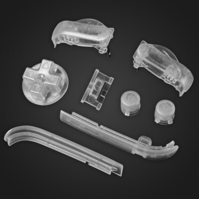 Game Boy Advance Buttons (Clear)