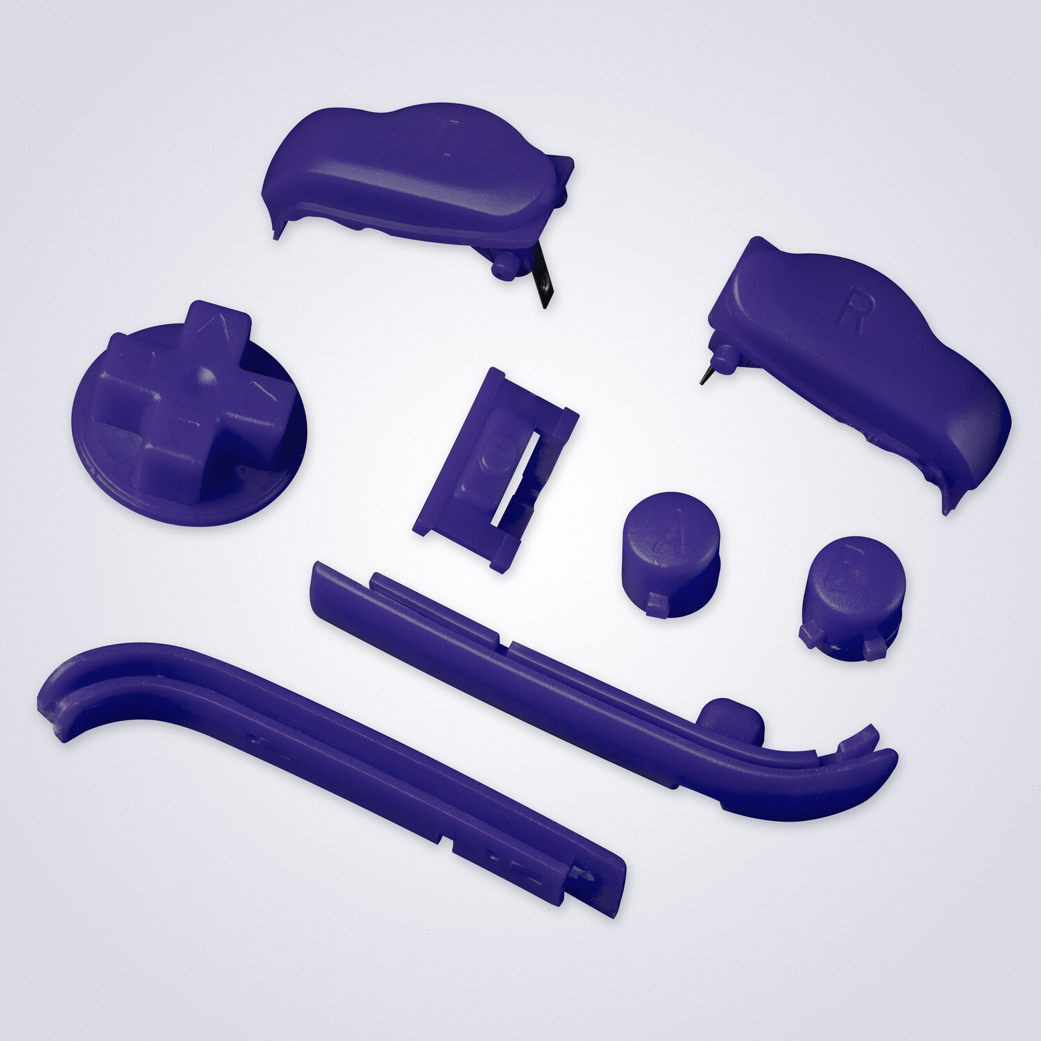 Game Boy Advance Buttons (Blue Purple)