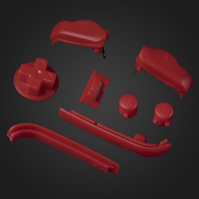 Game Boy Advance Buttons (Red)