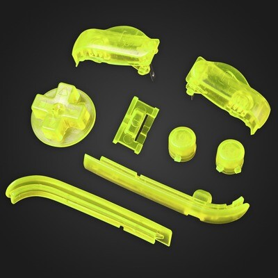 Game Boy Advance Buttons (Clear Yellow)