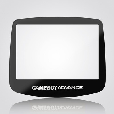 Game Boy Advance IPS Glass Screen (Black)