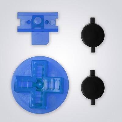 Game Boy Original Buttons (Clear Blue)
