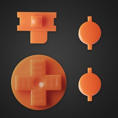 Game Boy Original Buttons (Orange)