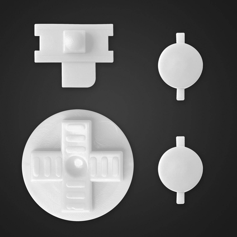 Game Boy Original Buttons (White)