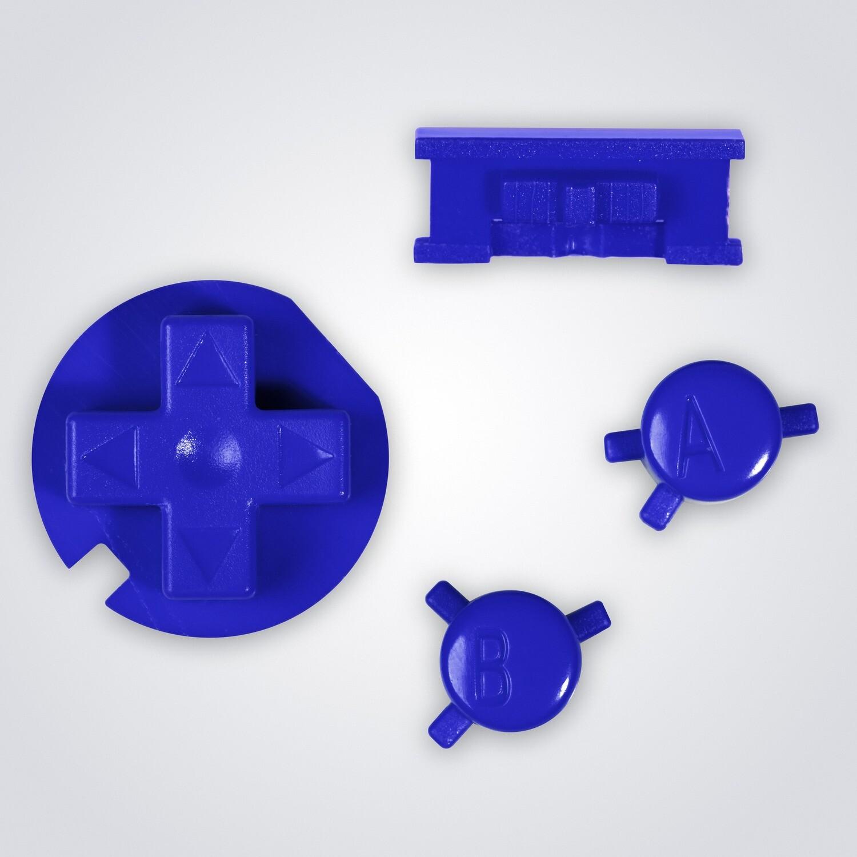 Game Boy Color Buttons (Blue)