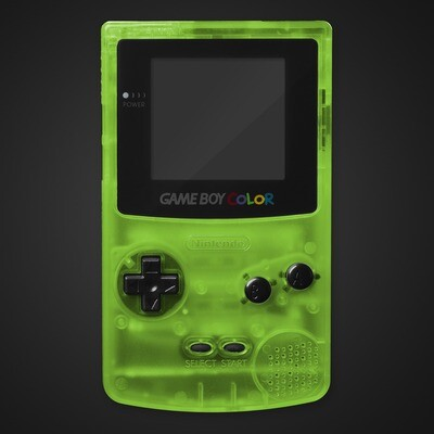 Game Boy Color Shell Kit (Clear Green)