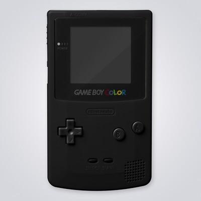 Game Boy Color Shell Kit (Black)