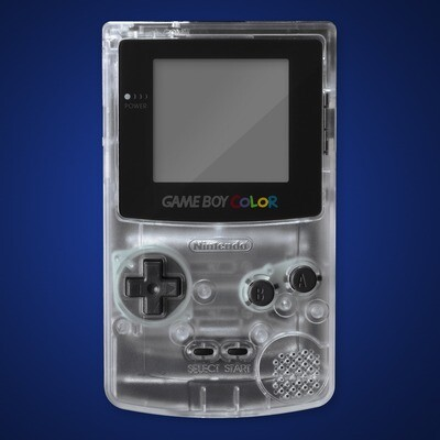 Game Boy Color Shell Kit (Clear)