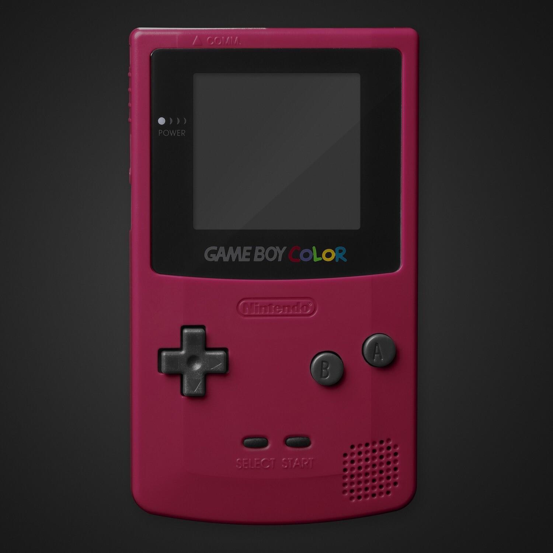 Game Boy Color Shell Kit (Crimson Red)