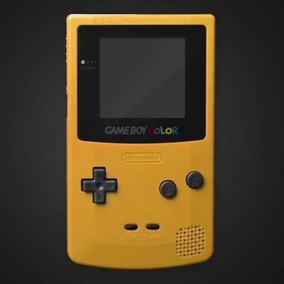 Game Boy Color Shell Kit (Yellow)