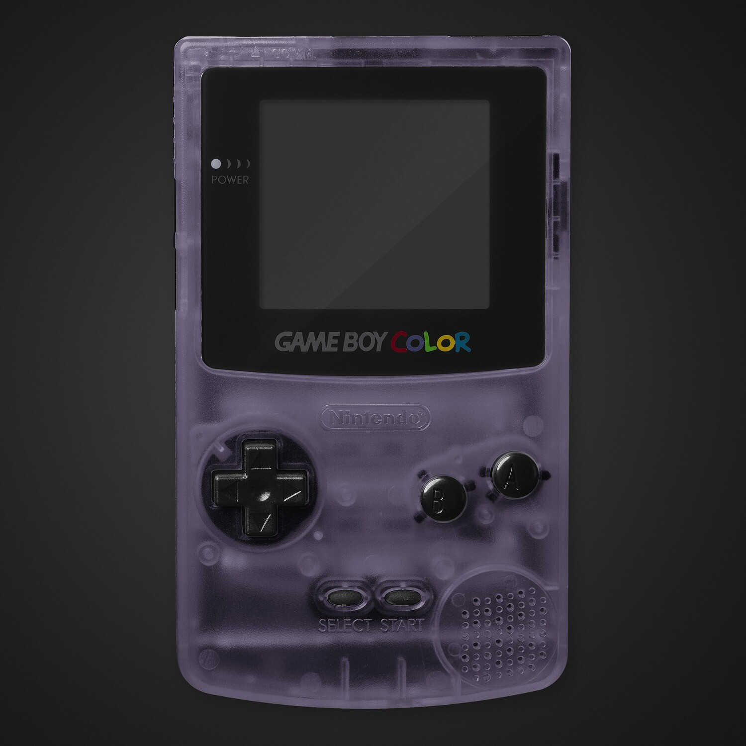 Game Boy Color Shell Kit (Clear Purple)