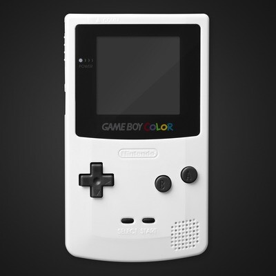 Game Boy Color Shell Kit (White)