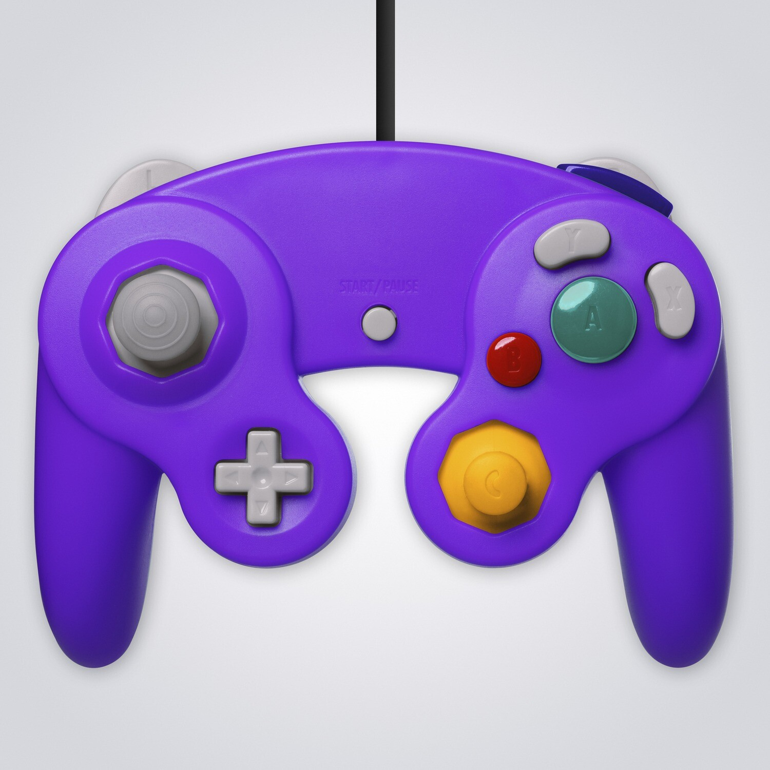 GameCube Wired Controller (Purple)