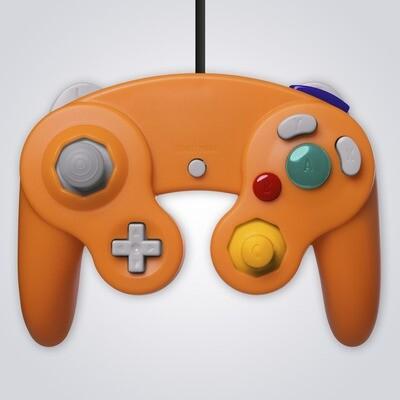GameCube Wired Controller (Orange)