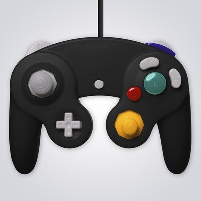 GameCube Wired Controller (Black)