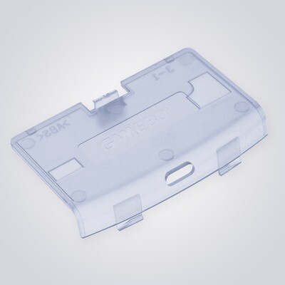 Game Boy Advance USB-C Battery Cover (Clear Blue)