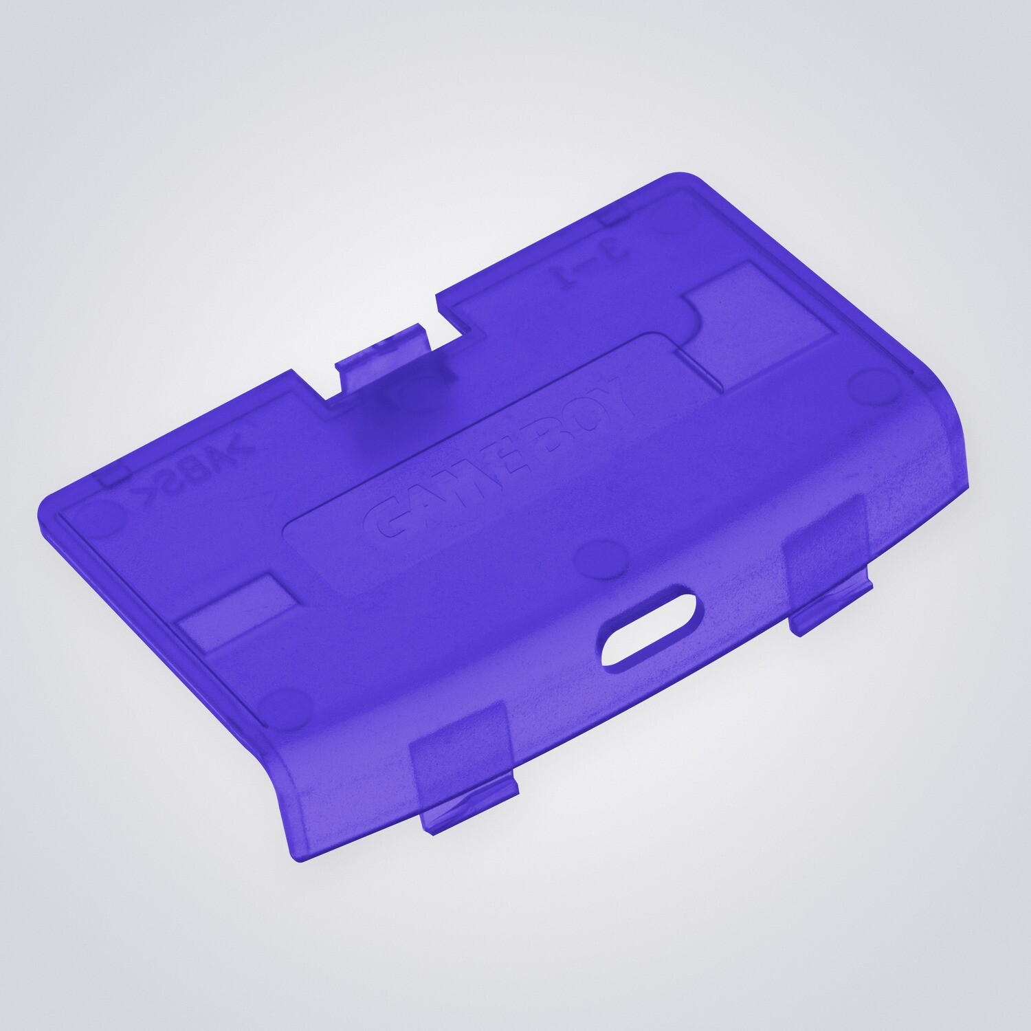 Game Boy Advance USB-C Battery Cover (Clear Purple)