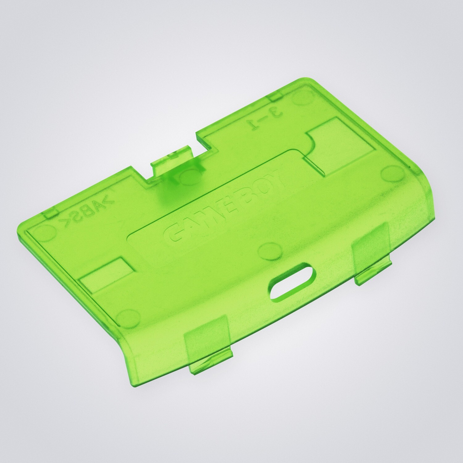Game Boy Advance USB-C Battery Cover (Clear Green)