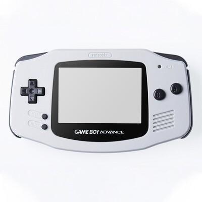 Game Boy Advance IPS Shell Kit (Grey)