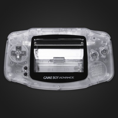 Game Boy Advance IPS Shell Kit (Clear)