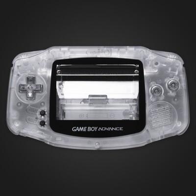 Game Boy Advance IPS USB-C Shell Kit (Clear)