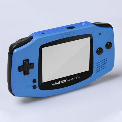 Game Boy Advance IPS Shell Kit (Pearl Blue)