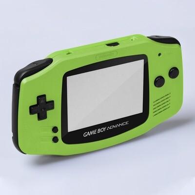 Game Boy Advance IPS Shell Kit (Pearl Green)