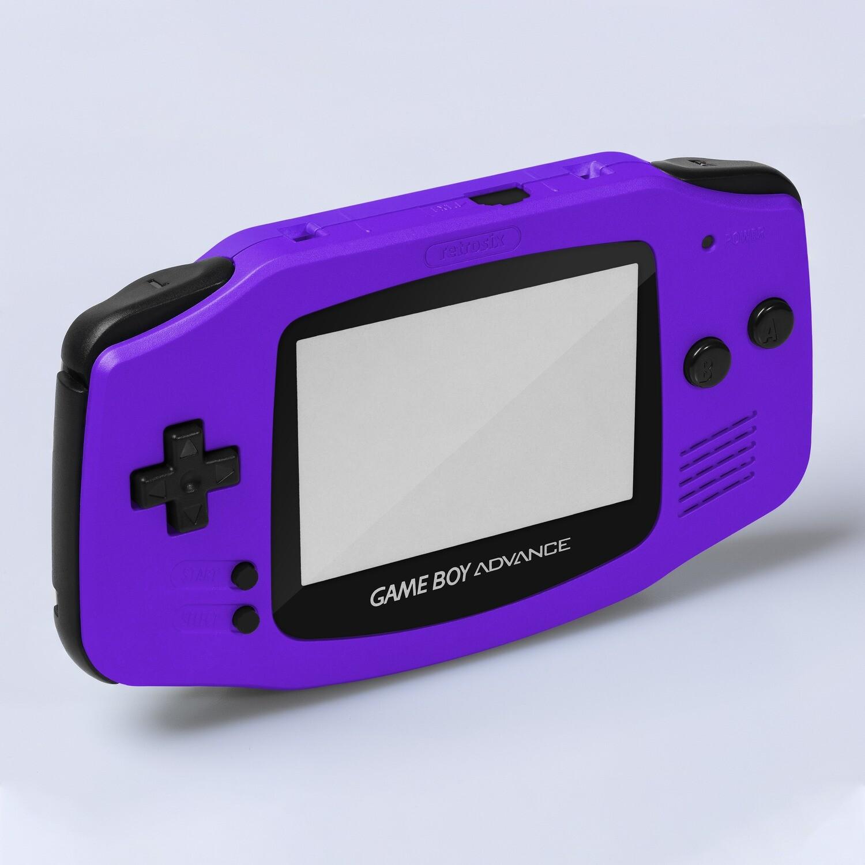 Game Boy Advance IPS Shell Kit (Pearl Purple)